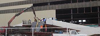 Civic Center Dismantling